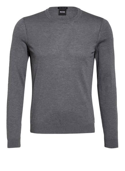 BOSS Pullover LENO-P, Farbe: GRAU MELIERT (Bild 1)