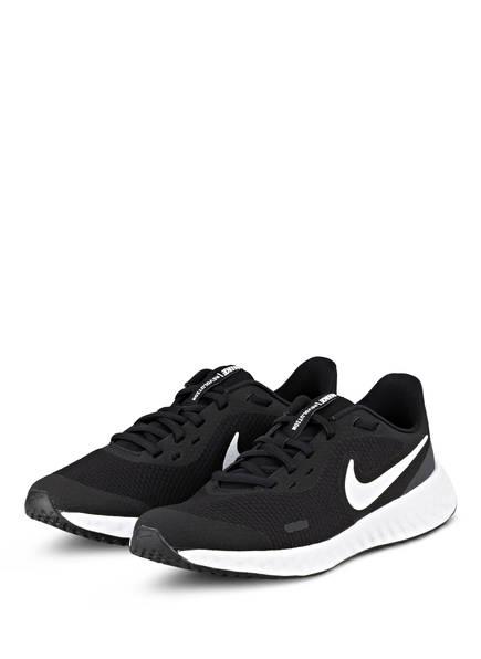 Nike Laufschuhe REVOLUTION 5, Farbe: SCHWARZ/ WEISS (Bild 1)