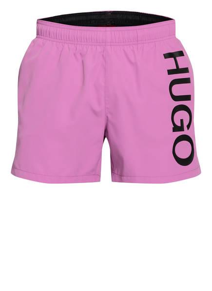 HUGO Badeshorts ABAS, Farbe: PINK (Bild 1)