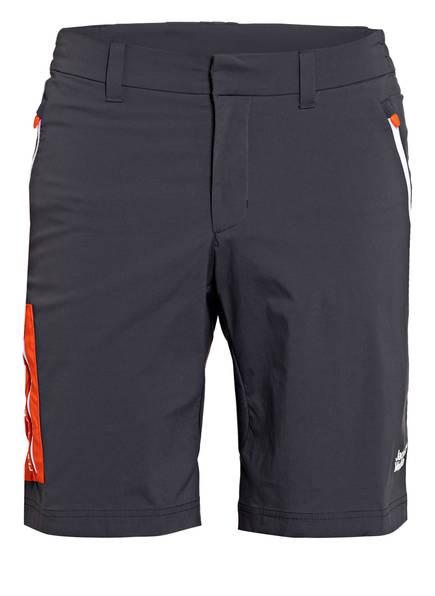 Jack Wolfskin Outdoor-Shorts OVERLAND, Farbe: DUNKELGRAU (Bild 1)