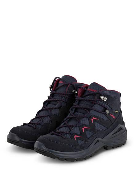 LOWA Outdoor-Schuhe SIRKOS EVO GTX MID, Farbe: NAVY/ BORDEAUX (Bild 1)