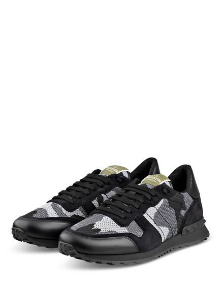VALENTINO GARAVANI Sneaker ROCKRUNNER, Farbe: GRAU/ HELLGRAU/ SCHWARZ (Bild 1)