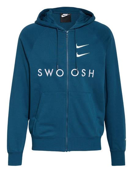 Nike Sweatjacke SWOOSH, Farbe: PETROL (Bild 1)