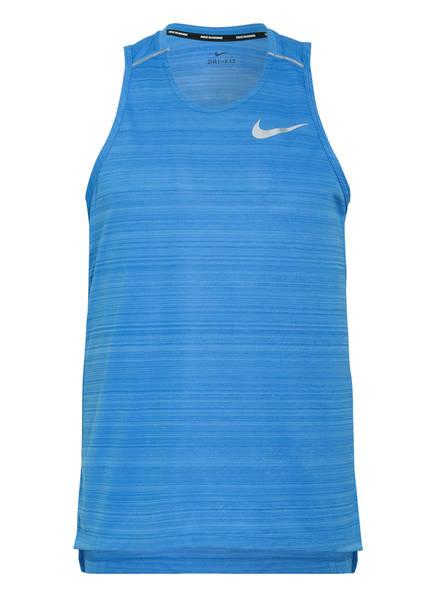 Nike Tanktop DRI-FIT MILER, Farbe: BLAU MELIERT (Bild 1)