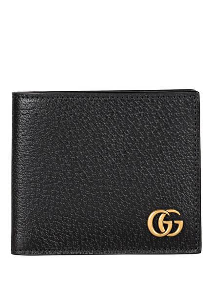 GUCCI Geldbörse GG MARMONT, Farbe: 1000 BLACK (Bild 1)