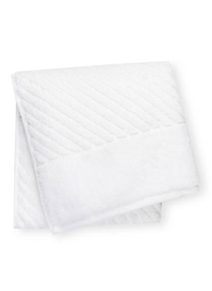 en VOGUE Handtuch DIAGONAL AIR, Farbe: WEISS (Bild 1)
