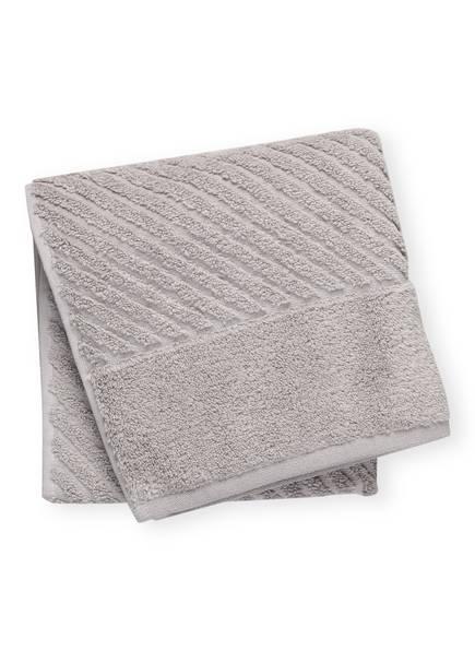 en VOGUE Handtuch DIAGONAL AIR, Farbe: HELLGRAU (Bild 1)