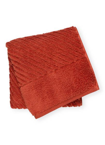 en VOGUE Handtuch DIAGONAL AIR, Farbe: HELLROT (Bild 1)
