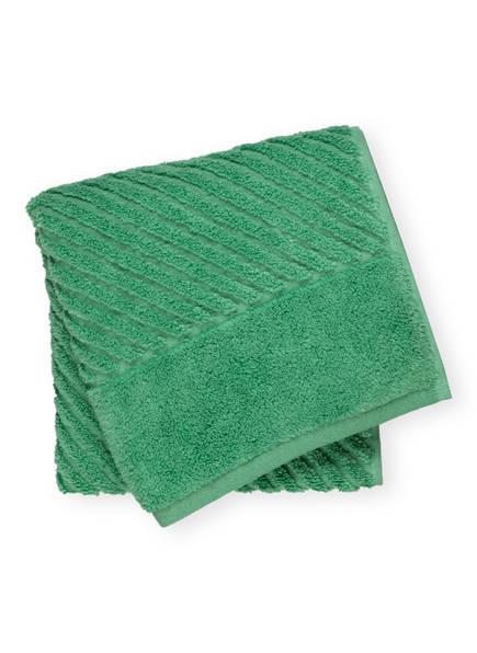 en VOGUE Handtuch DIAGONAL AIR, Farbe: HELLGRÜN (Bild 1)