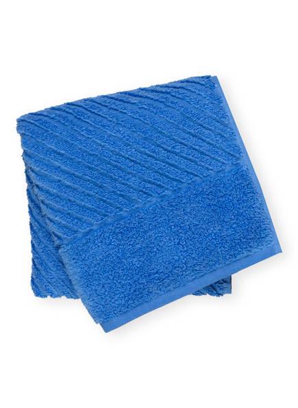 en VOGUE Handtuch DIAGONAL AIR, Farbe: BLAU (Bild 1)