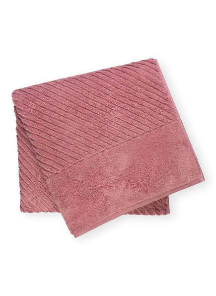 en VOGUE Duschtuch DIAGONAL AIR, Farbe: ROSA (Bild 1)