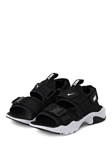 Nike Sandalen CANYON, Farbe: SCHWARZ/ WEISS (Bild 1)