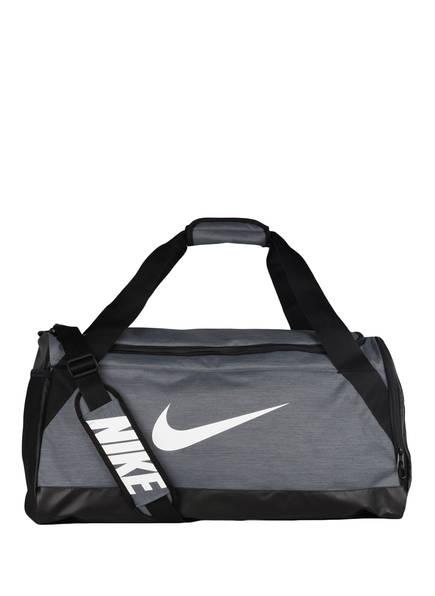 Nike Sporttasche BRASILIA MEDIUM, Farbe: GRAU/ SCHWARZ (Bild 1)