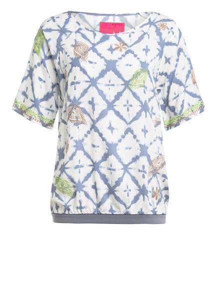 LIEBLINGSSTÜCK Blusenshirt REJANE , Farbe: WEISS/ BLAU/ GRÜN (Bild 1)