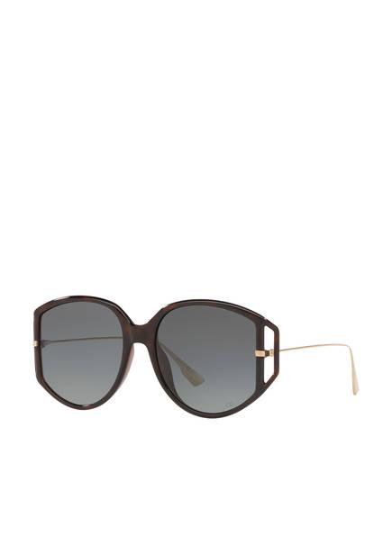 Dior Sunglasses Sonnenbrille CD001101, Farbe: 4430A2 - HAVANA/ GRAU (Bild 1)