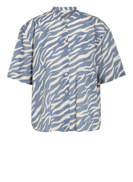 Marc O'Polo DENIM Bluse, Farbe: HELLBLAU/ WEISS (Bild 1)