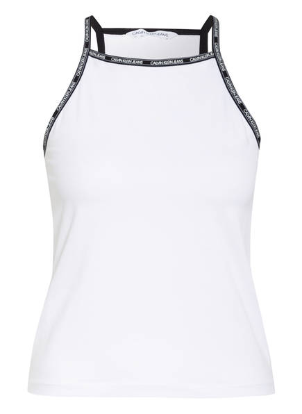 Calvin Klein Jeans Top , Farbe: WEISS (Bild 1)