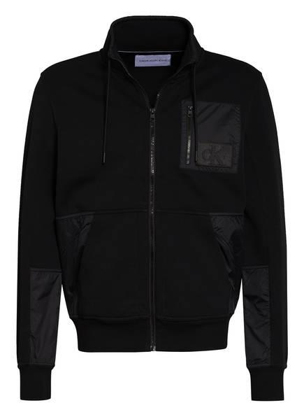 Calvin Klein Jeans Sweatjacke, Farbe: SCHWARZ (Bild 1)