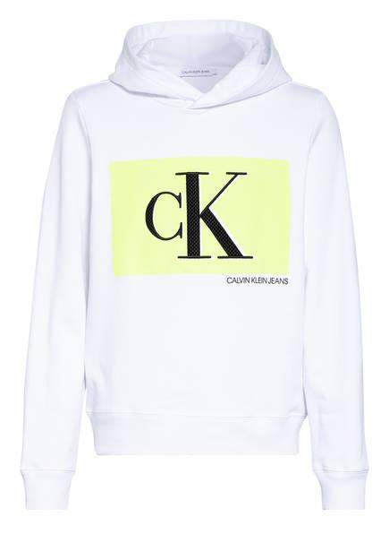 Calvin Klein Hoodie, Farbe: WEISS (Bild 1)