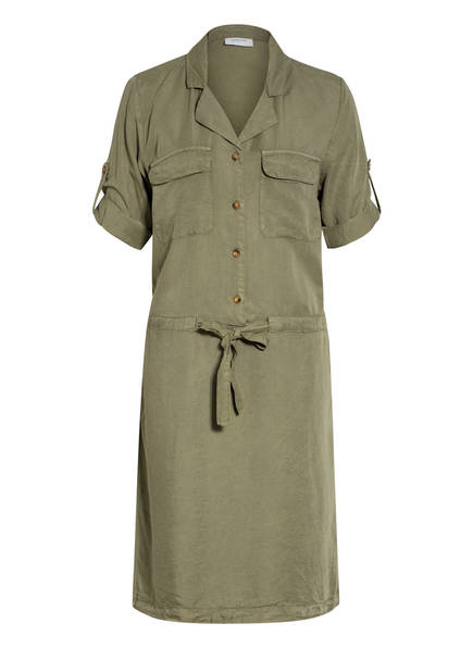 FREEQUENT Kleid mit 3/4-Arm, Farbe: OLIV (Bild 1)