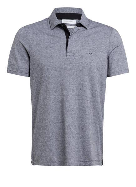 Calvin Klein Piqué-Poloshirt Regular Fit, Farbe: SCHWARZ/ WEISS MELIERT (Bild 1)