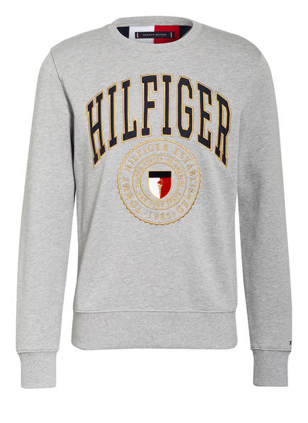 TOMMY HILFIGER Sweatshirt, Farbe: HELLGRAU MELIERT (Bild 1)