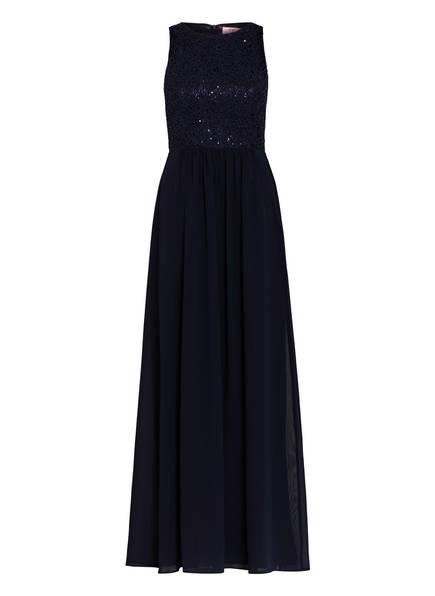VM VERA MONT Abendkleid mit Paillettenbesatz, Farbe: DUNKELBLAU (Bild 1)