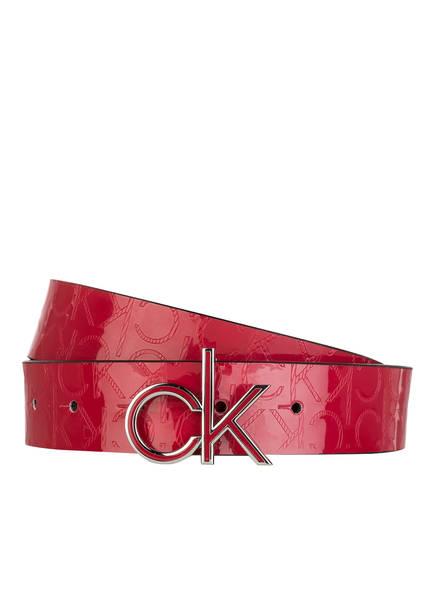 Calvin Klein Ledergürtel , Farbe: ROT (Bild 1)