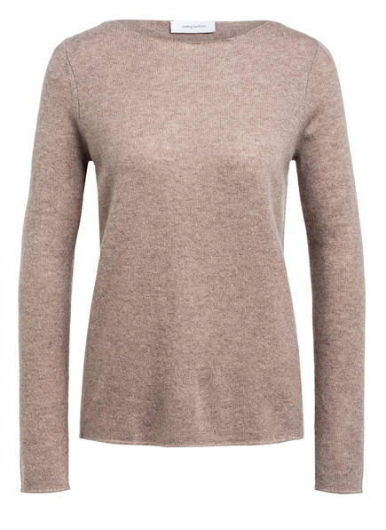 darling harbour Cashmere-Pullover, Farbe: TAUPE MELIERT (Bild 1)