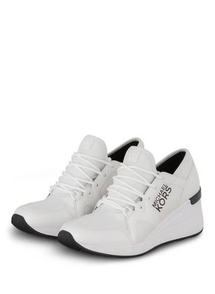 MICHAEL KORS Sneaker LIV TRAINER, Farbe: WEISS (Bild 1)