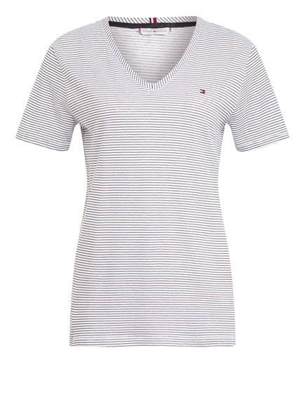 TOMMY HILFIGER T-Shirt BONITA, Farbe: WEISS/ SCHWARZ GESTREIFT (Bild 1)