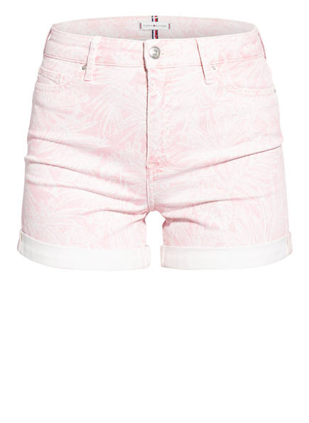 TOMMY HILFIGER Jeans-Shorts, Farbe: TPD PASTEL PINK (Bild 1)