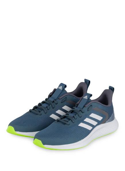 adidas Trainingsschuhe FLUIDSTREET, Farbe: PETROL/ WEISS (Bild 1)