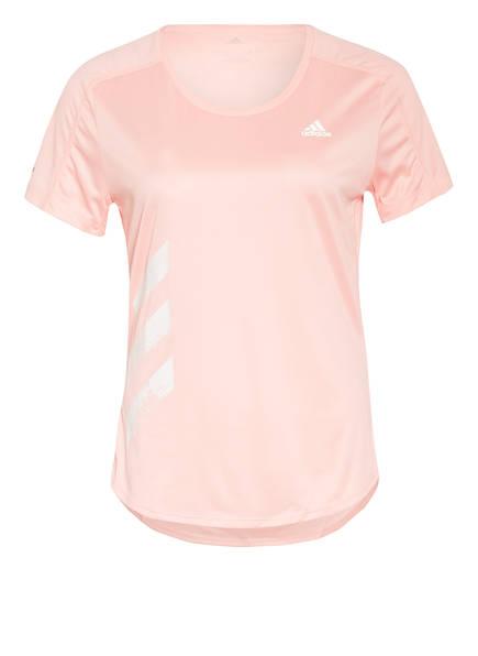 adidas Laufshirt RUN IT, Farbe: APRICOT (Bild 1)