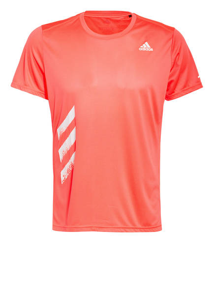 adidas T-Shirt RUN IT, Farbe: NEONPINK (Bild 1)