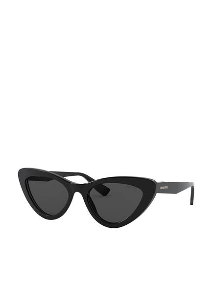 MIU MIU Sonnenbrille MU 01VS, Farbe: 1AB5S0 - SCHWARZ/ SCHWARZ (Bild 1)