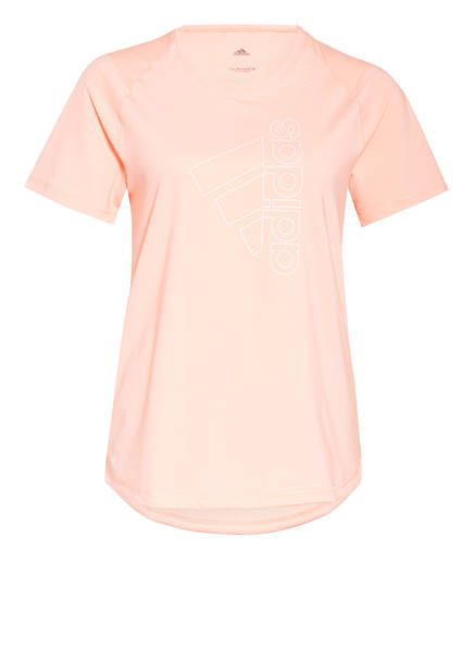 adidas T-Shirt MUST HAVES BADGE OF SPORT, Farbe: APRICOT (Bild 1)