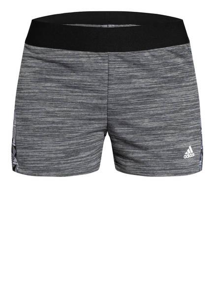 adidas Sweatshorts ESSENTIALS TAPE, Farbe: GRAU MELIERT (Bild 1)