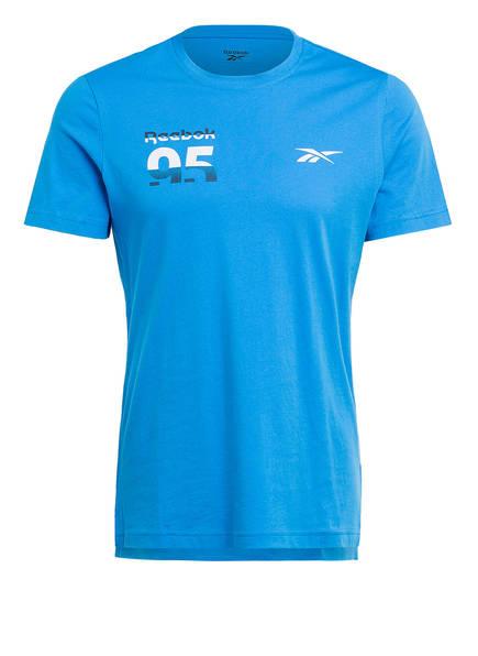 Reebok T-Shirt MYT GRAPHIC, Farbe: BLAU (Bild 1)