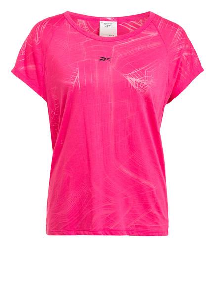 Reebok T-Shirt BURNOUT, Farbe: PINK (Bild 1)