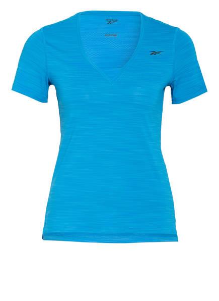 Reebok T-Shirt ACTIVCHILL ATHLETIC, Farbe: TÜRKIS MELIERT (Bild 1)