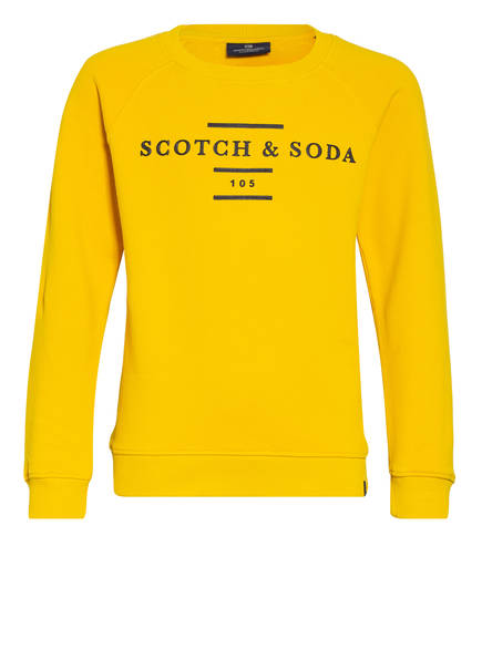 SCOTCH SHRUNK Sweatshirt, Farbe: DUNKELGELB (Bild 1)