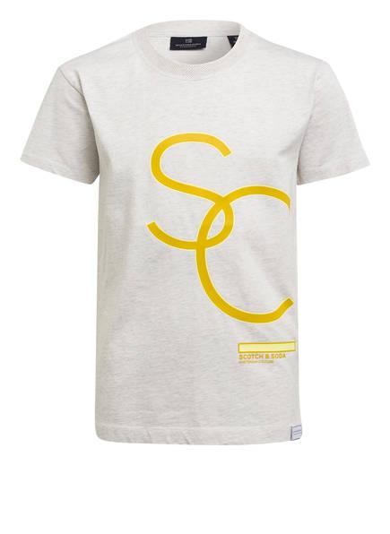 SCOTCH SHRUNK T-Shirt, Farbe: CREME (Bild 1)