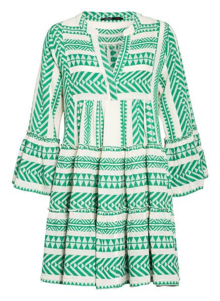 Devotion Kleid ELLA, Farbe: WEISS/ GRÜN (Bild 1)