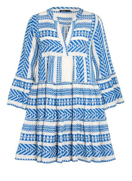 Devotion Kleid ELLA, Farbe: WEISS/ BLAU (Bild 1)