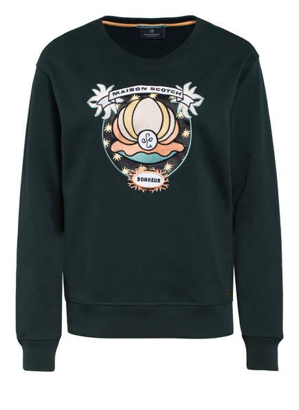 SCOTCH & SODA Sweatshirt, Farbe: DUNKELGRÜN (Bild 1)