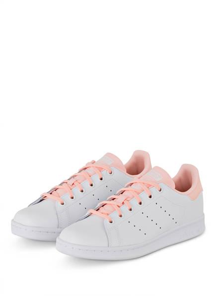 adidas Originals Sneaker STAN SMITH, Farbe: WEISS/ HELLROSA (Bild 1)