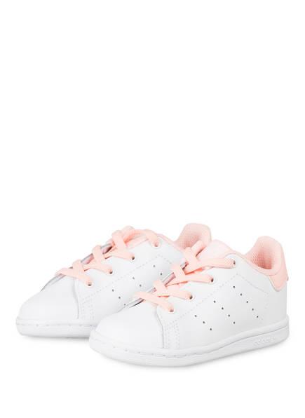 adidas Originals Sneaker STAN SMITH, Farbe: WEISS/ HELLORANGE (Bild 1)