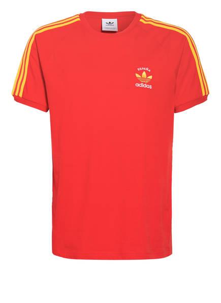 adidas Originals T-Shirt ESPAÑA, Farbe: ROT/ GELB (Bild 1)