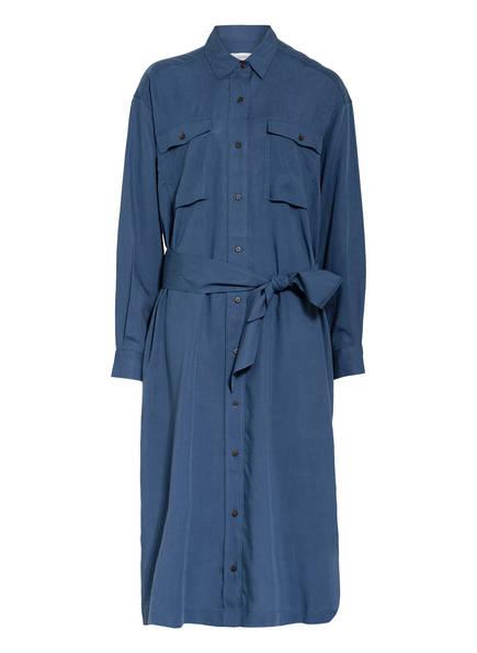 CLOSED Hemdblusenkleid, Farbe: BLAU (Bild 1)